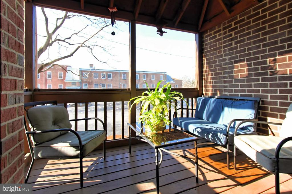 Cozy Screened in Deck Off Living Room - 608A N TAZEWELL ST, ARLINGTON