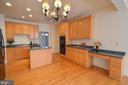 Kitchen like it's Single Family House! - 20974 ALBION LN, ASHBURN