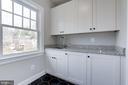 Second floor laundry room - 4522 CHELTENHAM DR, BETHESDA