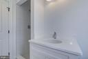 Third floor full bathroom - 4522 CHELTENHAM DR, BETHESDA