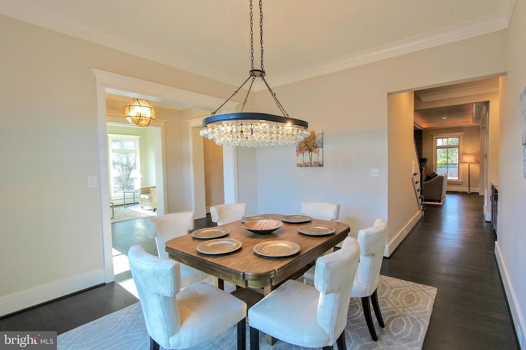 Dining room, of similar model - 222 LOVERS LN NW, VIENNA
