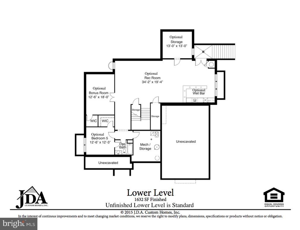 Lower Level Floor Plan - 222 LOVERS LN NW, VIENNA