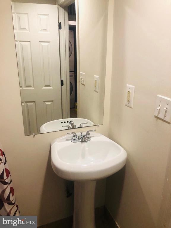 Basement bathroom - 4007 AMES ST NE, WASHINGTON