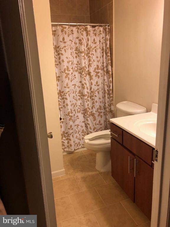 Updated main level bathroom - 4007 AMES ST NE, WASHINGTON