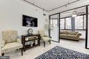 Living Room - 1001 N RANDOLPH ST #205, ARLINGTON
