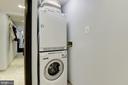 Washer/Dryer - 1001 N RANDOLPH ST #205, ARLINGTON