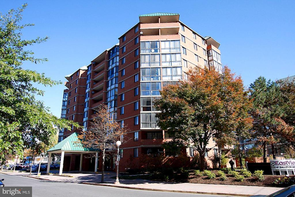 Exterior Building - 1001 N RANDOLPH ST #205, ARLINGTON