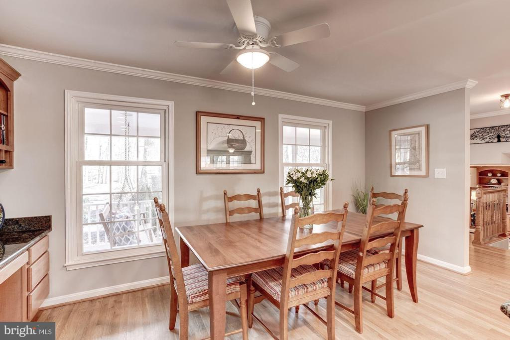Breakfast area or dining area, your choice! - 1406 EARNSHAW CT, RESTON