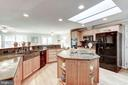 Kitchen with Granite sink. - 1406 EARNSHAW CT, RESTON