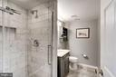 3rd bath on lower level. - 1406 EARNSHAW CT, RESTON