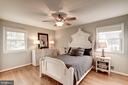 Master Bedroom with neutral paint - 1406 EARNSHAW CT, RESTON