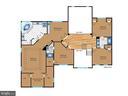Upper level floor plan - 7304 AUBURN ST, ANNANDALE