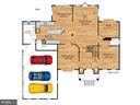 Main level floor plan - 7304 AUBURN ST, ANNANDALE