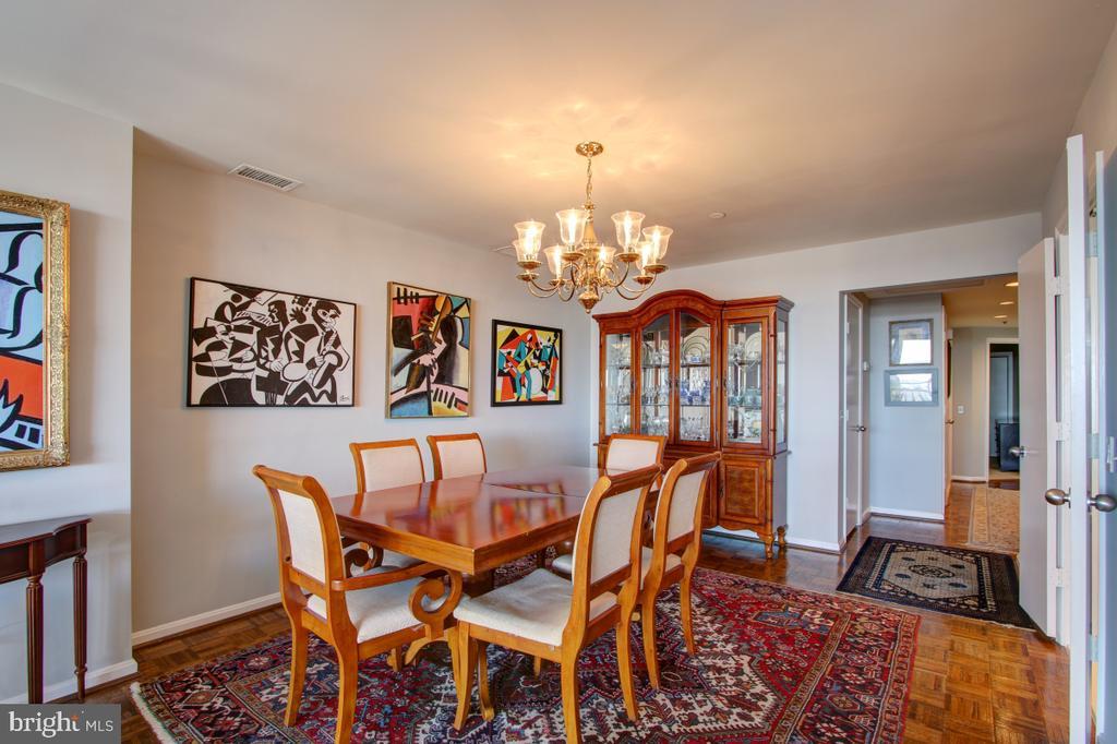 Dining Room - 1401 N OAK ST N #305, ARLINGTON