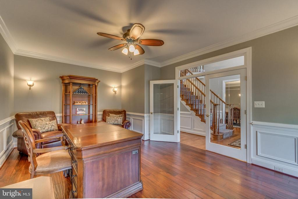 Wainscoting, Crown Molding and Large French Doors - 70 ALDERWOOD DR, STAFFORD