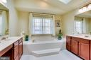 Luxury Master bathroom - 10522 DUNN MEADOW RD, VIENNA