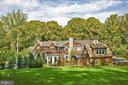 Rear has gorgeous Hamptons' shingle style (2010) - 7301 DULANY DR, MCLEAN