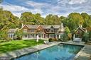 Crystal clear heated pool (2010) - 7301 DULANY DR, MCLEAN