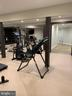 The workout room has a special rubber floor - 7301 DULANY DR, MCLEAN