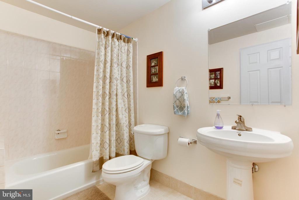 full bath in basement - 42566 NATIONS ST, CHANTILLY