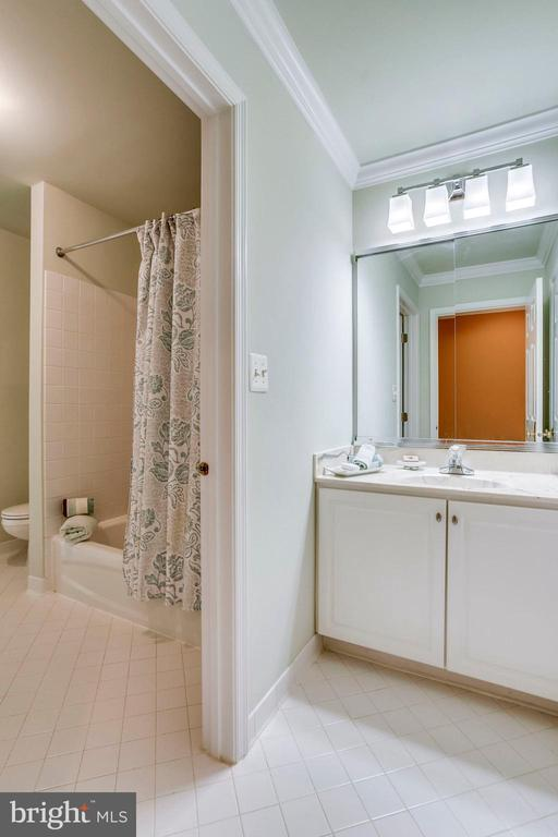 Upper level Jack & Jill bath - 10522 DUNN MEADOW RD, VIENNA