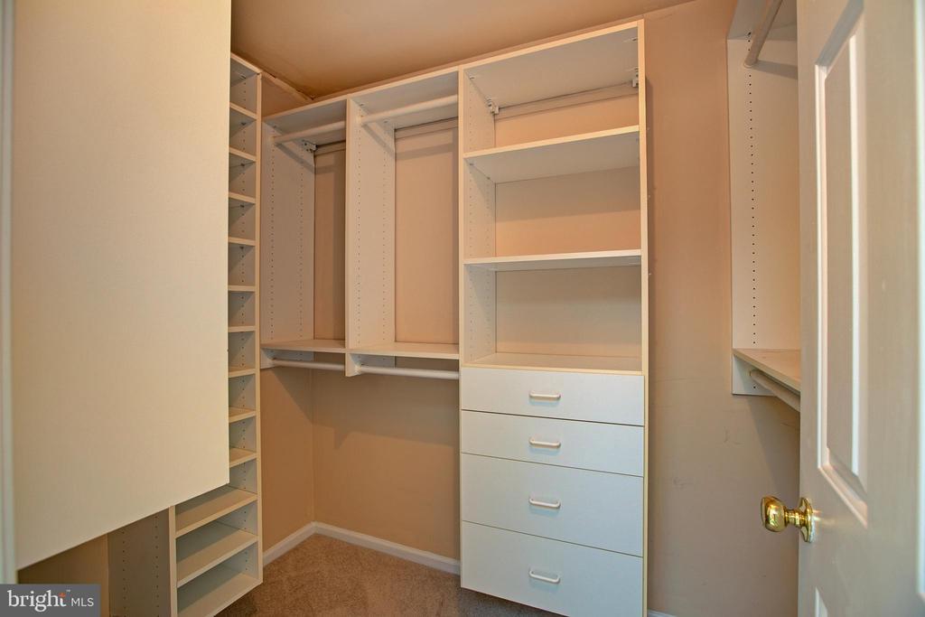 Master Bedroom closet - 12311 CLIVEDEN ST, HERNDON