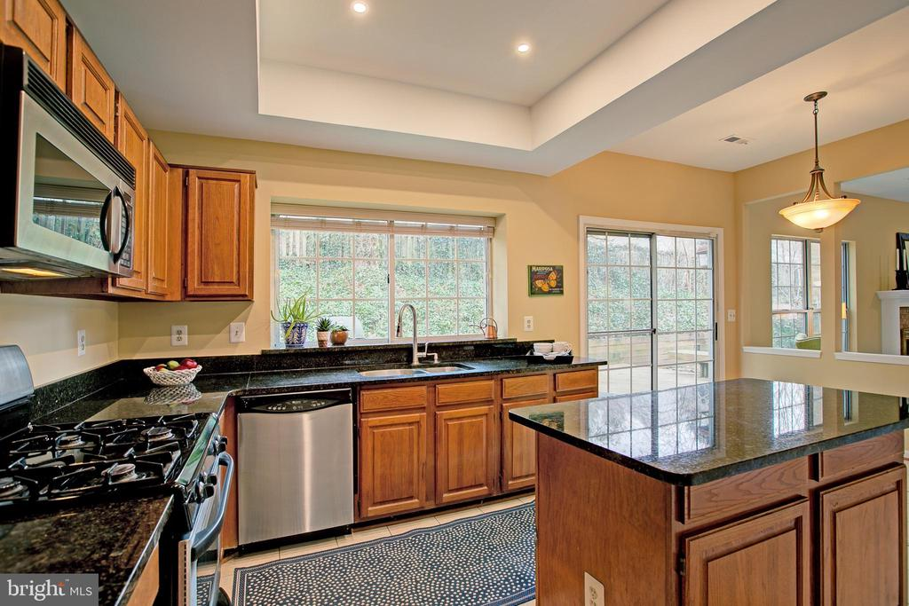 Granite counters & large window. - 12311 CLIVEDEN ST, HERNDON