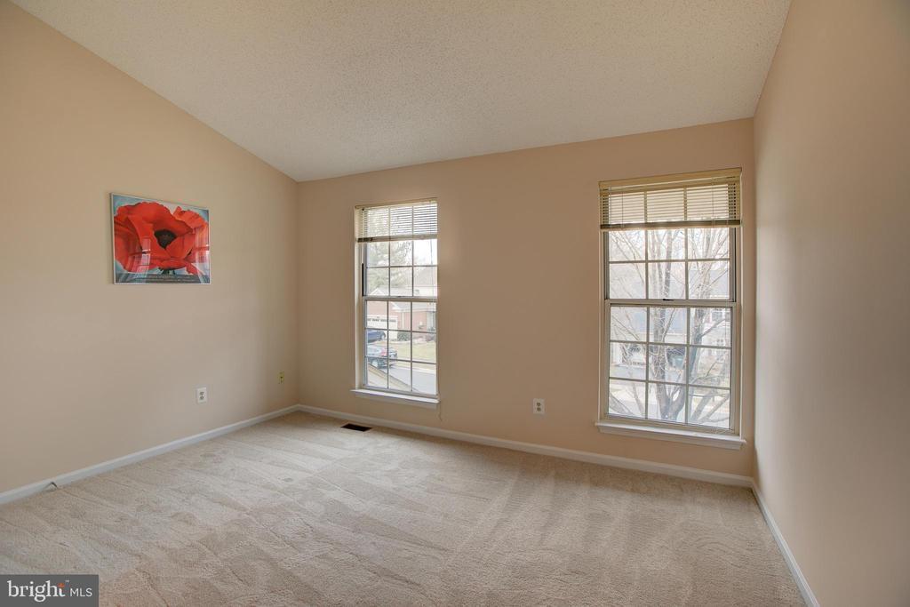 Bedroom #3. All BR have vaulted ceilings - 12311 CLIVEDEN ST, HERNDON