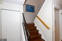 hALL STORAGE AND COAT CLOSET*OFF SET STAIR CASE* - 10263 WILDE LAKE TER, COLUMBIA