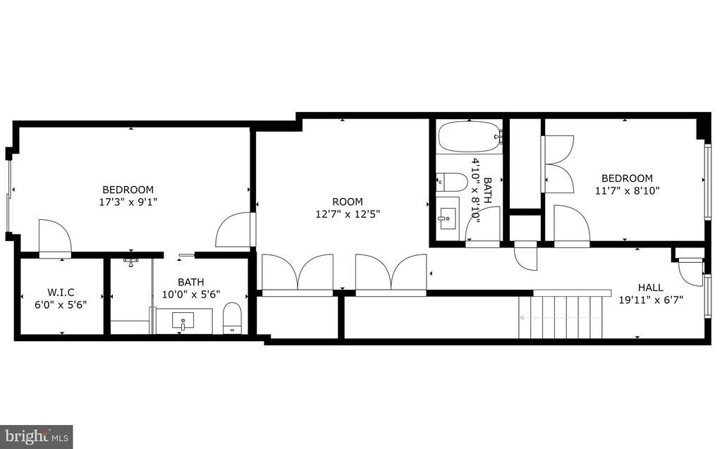 Lower Level - 640 FRANKLIN ST NE #1, WASHINGTON