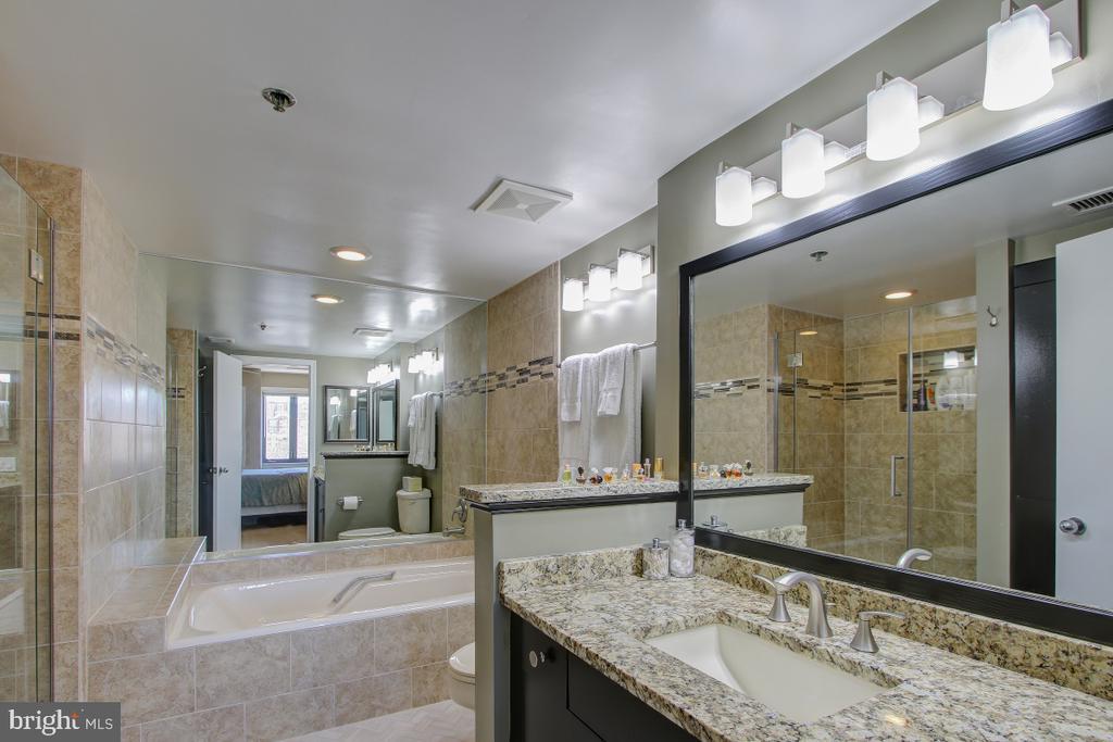 Master Bath Tub and Shower - 1401 N OAK ST N #305, ARLINGTON