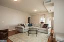 You will love  the living room - 11990 MARKET ST #1117, RESTON