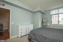 Walk in closet in the second bedroom. - 11990 MARKET ST #1117, RESTON