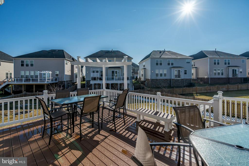 Enjoy Expansive Deck Overlooking Huge Lot - 42660 PARADISE SPRING CT, BRAMBLETON