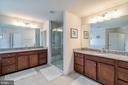 Maater Bath Double Vanities w/Hollywood LIghting! - 42660 PARADISE SPRING CT, BRAMBLETON