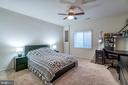 Comfortable Lower Level Bedroom! - 42660 PARADISE SPRING CT, BRAMBLETON