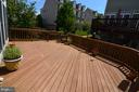 Nice View from the Deck - 10339 SOUTHAM LN, OAKTON