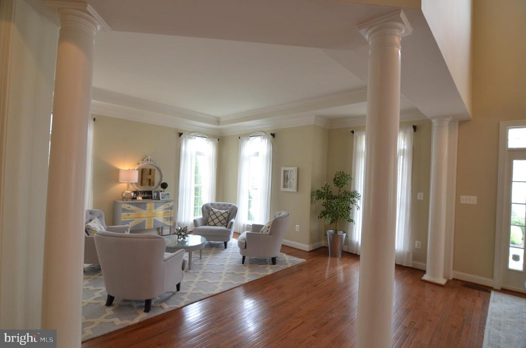 Formal Family Room - 10339 SOUTHAM LN, OAKTON