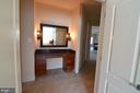 Vanity  in Master Bedroom hallway - 10339 SOUTHAM LN, OAKTON
