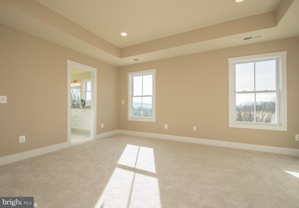 Master Bedroom Suite with mountain views - YAKEY LN, LOVETTSVILLE