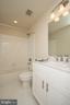 Upper Level Hall Bath - YAKEY LN, LOVETTSVILLE