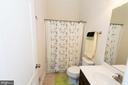 guest bath - 39 FORGE MILL RD, STAFFORD