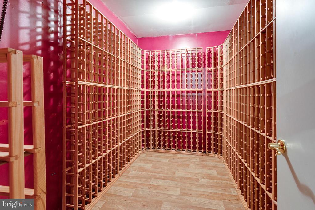 Climate Controlled Custom Wine Cellar - 2943 OAKTON KNOLL CT, OAKTON