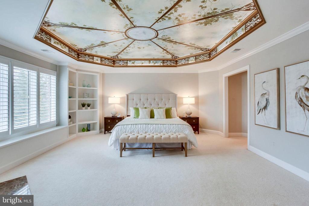 Spacious Master Bedroom - 1386 CAMERON HEATH DR, RESTON