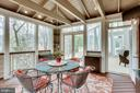 Screened In Porch off Family Room - 1386 CAMERON HEATH DR, RESTON