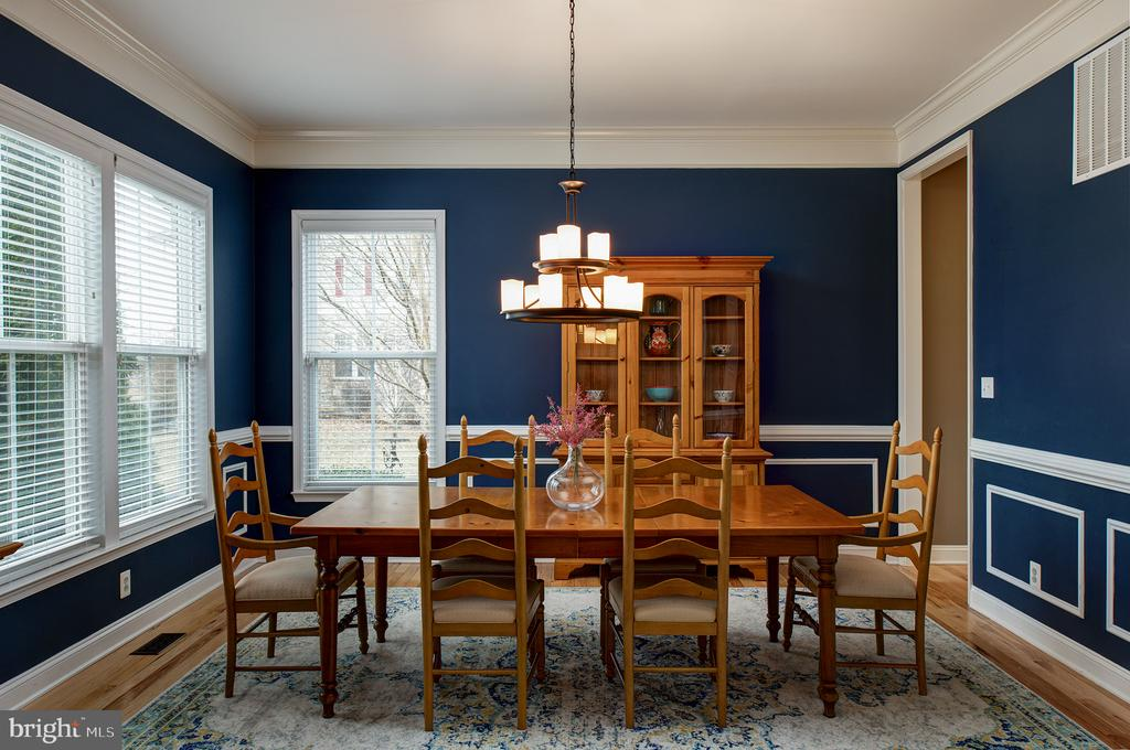Large formal dining - 6717 ECKERT CT, WARRENTON
