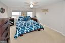 MASTER BEDROOM - 1301 N COURTHOUSE RD N #1809, ARLINGTON