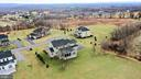 Aerial view from back of home - 18607 MONTAGUE PL, PURCELLVILLE
