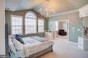 Luxurious master suite - 18607 MONTAGUE PL, PURCELLVILLE