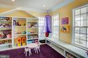Customized play room - 18607 MONTAGUE PL, PURCELLVILLE